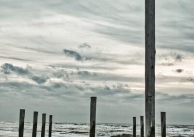 Strandpalen bij Petten