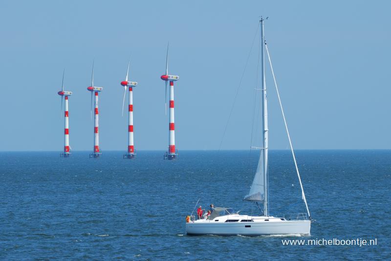 Zeilboot op IJselmeer