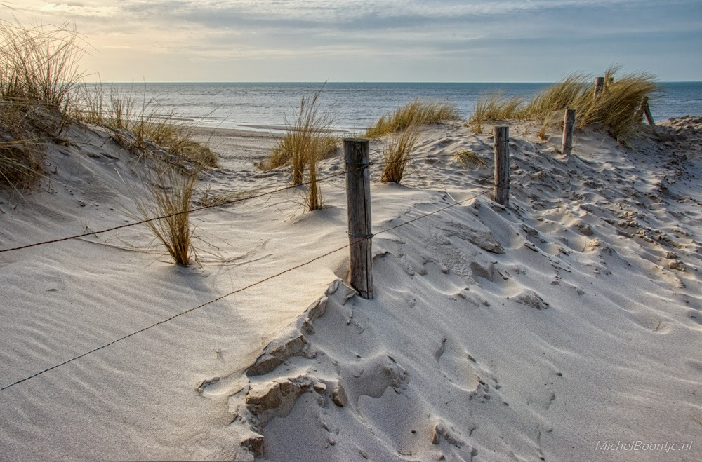 De kust bij Petten